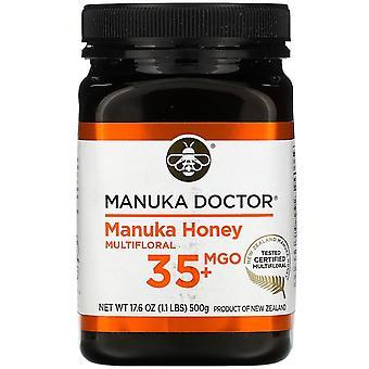 Manuka Doctor, Manuka Honey Multifloral, MGO 35+, 17,6 oz (500 g)