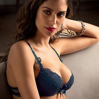 Lise Charmel lingerie Soir de Venise Push up Bra blue