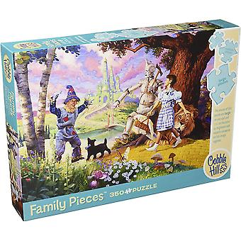 Cobble hill - the wizard of oz - family 350 pc puzzle