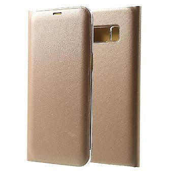 Mobile Case with Card Pocket for Samsung Galaxy S8 Plus Full Cover Phone TPU Gold