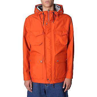 Ami A19ow100205800 Herren's Orange Nylon Outerwear Jacke