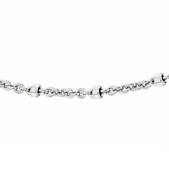 TJC Trace Chain Necklace Sterling Silver Size 18""