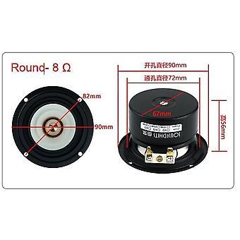 3'' Full Range Frequency Speaker 90mm Unit With Aluminum Bullet Head Kapton