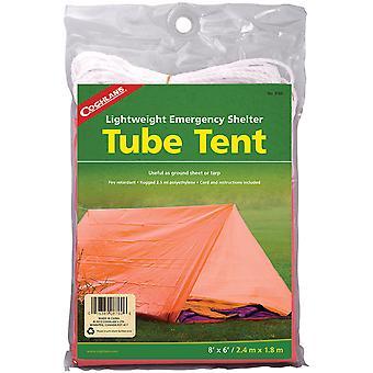 Coghlan's Lightweight Emergency Shelter Tube Tent, 2 Person, Ground Sheet/Tarp
