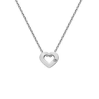Hot Diamonds Sterling Silver Diamond Amulets Heart Pendant DP747