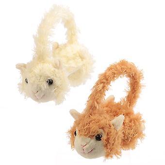 Fun Plush Llama Earmuffs (One Size)
