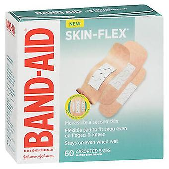 Band-Aid Skin-Flex Assorted Sizes Bandages, 60 Each