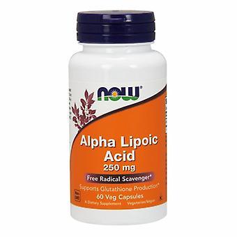 今食品アルファリポ酸, 250 mg, 60 キャップ