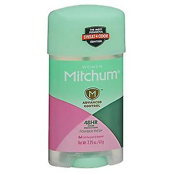 Revlon Mitchum For Women Power Gel Anti-Perspirant Deodorant, Powder Fresh 2.25 oz