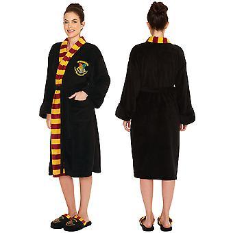 Harry Potter Hogwarts Crest Women's Bathrobe