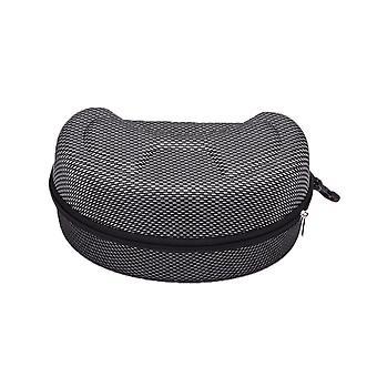 Ampia custodia per occhiali da sole con carbiner portatile
