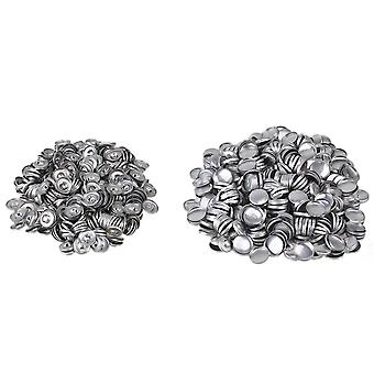 500pcs Sew DIY Fabric Self Cover Metal Self Covered Buttons 32L