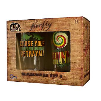 Firefly Pint Glasses Series 2 (Set of 2)