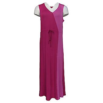 Carole Hochman Women's Gown Two Tone Maxi Gown Purple A373463