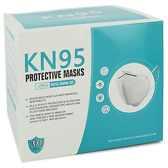 Kn95 Mask Thirty (30) KN95 Masks, Adjustable Nose Clip, Soft non-woven fabric, FDA and CE Approved (Unisex) By Kn95 1 size Thirty