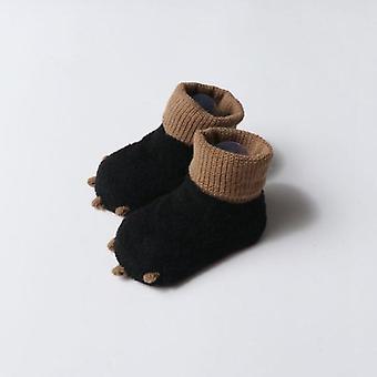 Uusi söpö syksy ja talvi vastasyntyneet sukat rento lämmin vauvan jalka sukka