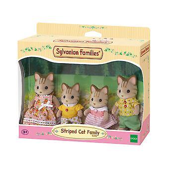 Familles sylvaniennes - famille rayée de chat