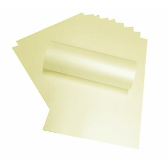 A4 Paper Opal Candlelight Cream Peregrina Majestic 120gsm Pearl