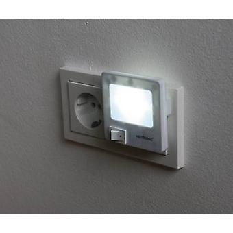Heitronic 47202 LED night light Square LED (monochrome) Cool white White