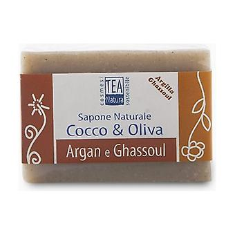 Natural Argan and Ghassoul Soap 100 g