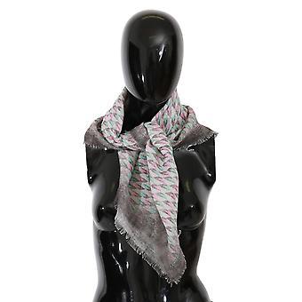 Multicolor Printed Neck Wrap Shawl Scarf