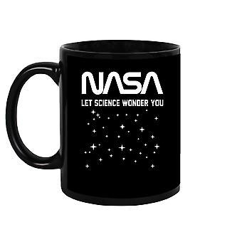 Laat de wetenschap je afvragen. Mug Unisex's -NASA Designs