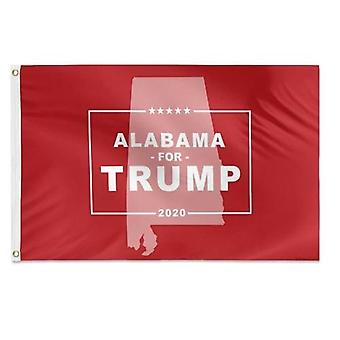 Alabama For Trump Flag 3x5 Feet