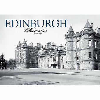 Otter House Edinburgh Memories A4 Calendar 2021