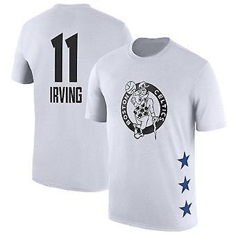 Kyrie Irving Boston Celtics No.11 Koripallo T-paita Urheilu Top DXG017