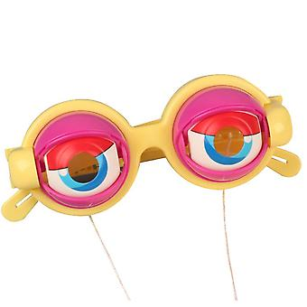 Eyes Glasses Giant Googly Goggles Eyes Glasses Party Favors Toys Funny Shaking Costume Eyes Glass Goggles Plastic Round Googly Sunglasses