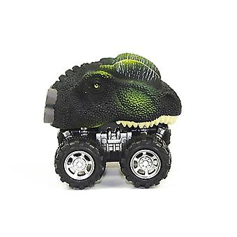 Simulation Dinosaur Toy Pull Back Car Tyrannosaurus Model Toy Racing Children's Toy
