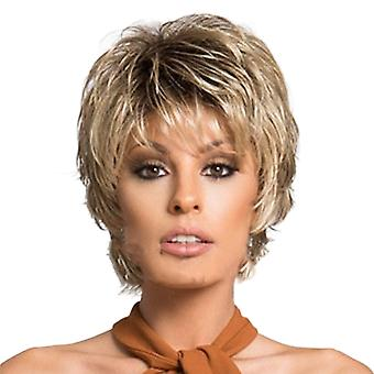 Brand Mall Wigs, Lace Wigs, Realistic Curly Short Hair
