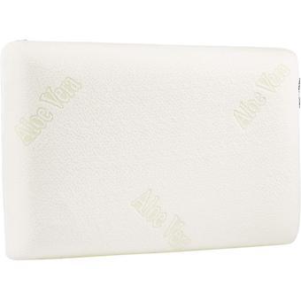 AmazonBasics Memory-Foam Pillow with Aloe Vera - 60 x 40 x 12 cm