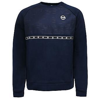 Sergio Tacchini Cass Sweatshirt Tejpad märkeshoppare Navy 37954 215