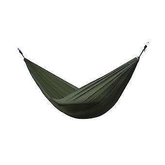 Hiking Camping Hammock, Portable Nylon Safety Parachute Swing Chair - Double