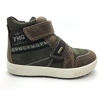 PRIMIGI Goretex Velcro Boot Brown
