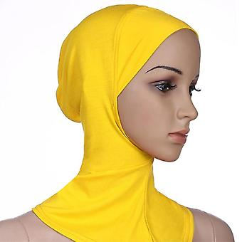 Muslimi aluskarva Naiset Veil Hijab Pää Huivit Muslimi Huivi Turbans Head's