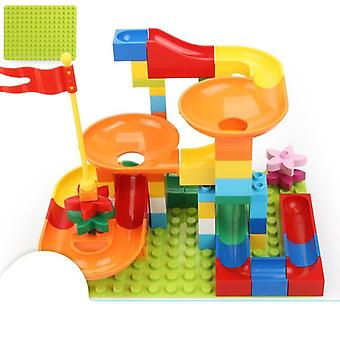 Big Size, Funnel Slide - Maze Ball Track, Building Blocks
