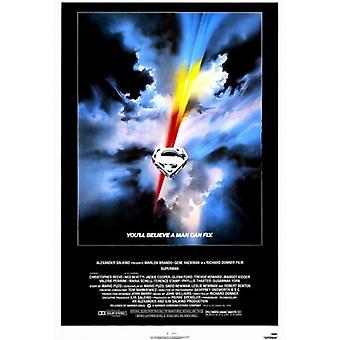 Superman the Movie Movie Poster (11 x 17)
