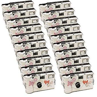 20X photo porst wedding camera with butterfly/disposable/party camera/27photos with flash, pack of