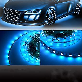 5M غير للماء SMD5050 طول الموجة 480nm الجليد الأزرق 600 LED ضوء قطاع DC12V