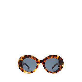Balenciaga BB0120S havana female sunglasses