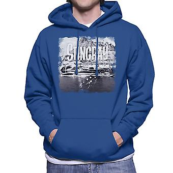 Stingray Submarine Vintage Camera Shot Men's Hooded Sweatshirt