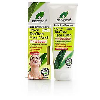 Dr. Orgánico Bioactivo Árbol de Té Orgánico Lavado Facial 200 Ml Unisex