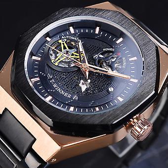 GMT1189 Классический Полный Металл Мужчины Wrist Часы Бизнес Стиль Self-winding Механик