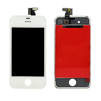 iPhone 4 LCD-skærm Digitizer Udskiftning - Hvid