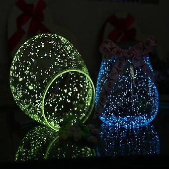 Glow In The Dark Fluorescence Sand Party Bright Paint Star Wishing Bottle