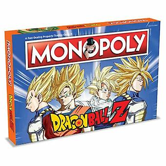 Monopoly dragon ball z limited edition board game