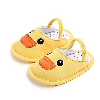 Scarpe neonato/bambina, culla pantofola in cotone suola morbida
