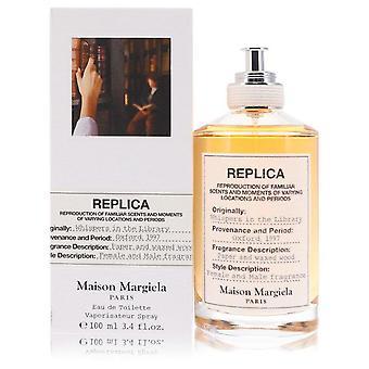 Replica whispers in the library eau de toilette spray by maison margiela 553189 100 ml